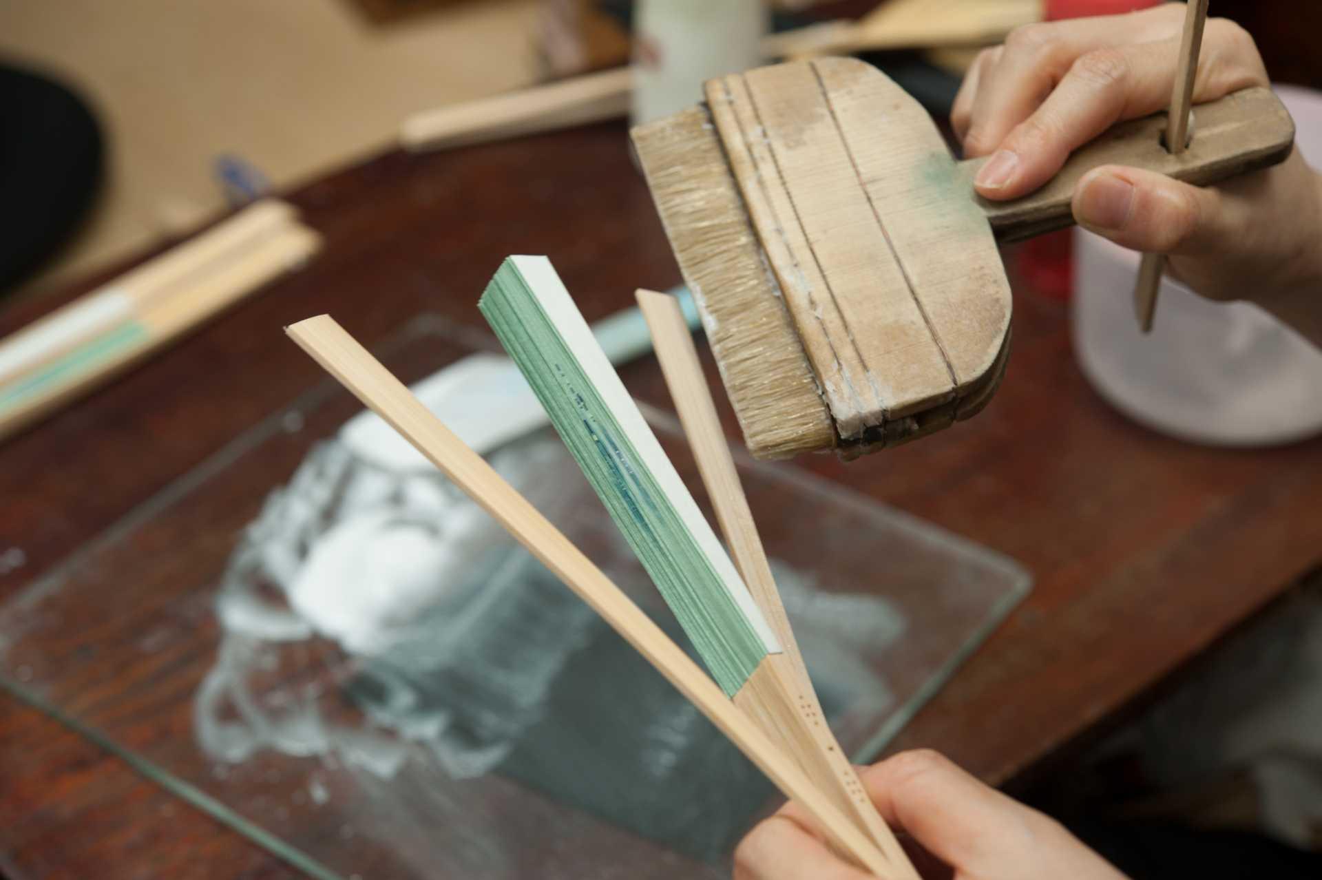 扇子の製造工程イメージ4