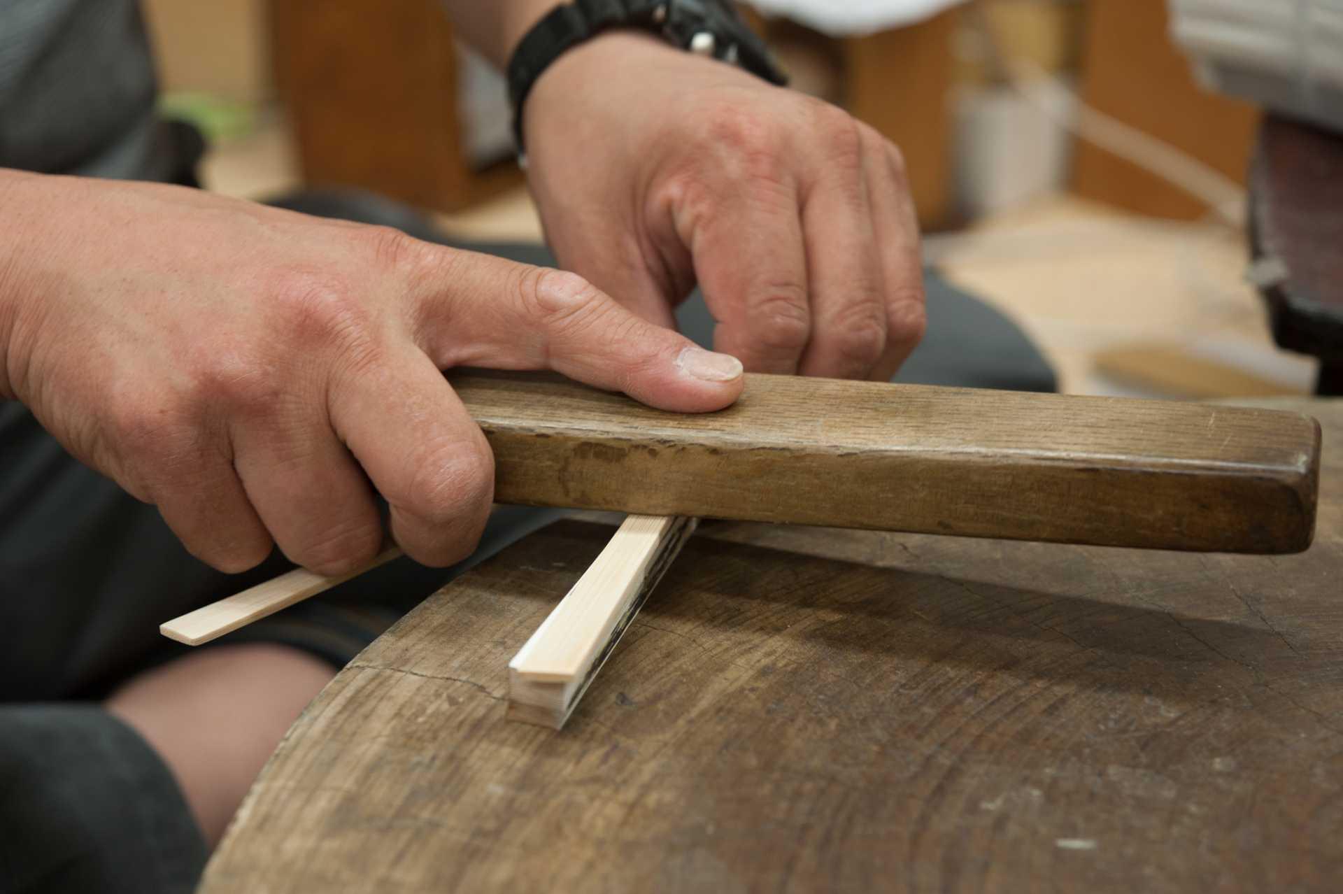 扇子の製造工程イメージ5