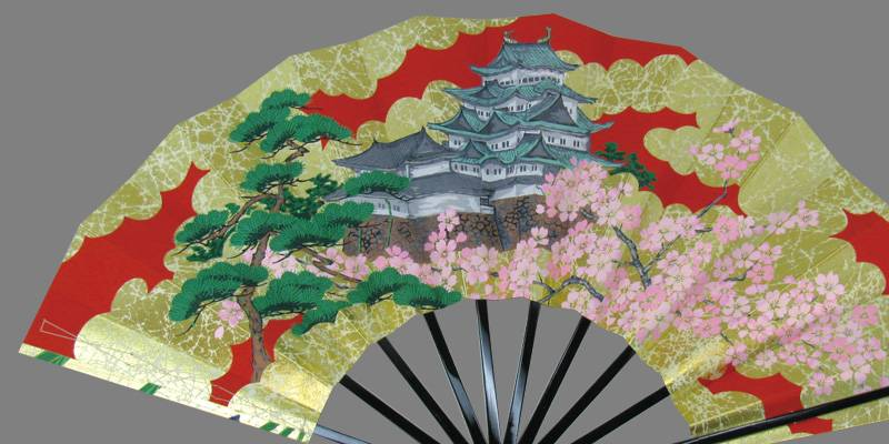 NAGOYA SENSU (Folding Fan)